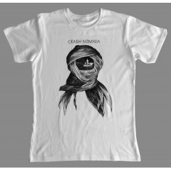 Crash Nomada: T Shirt – white